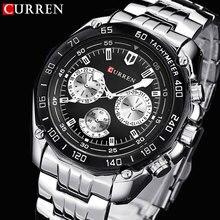 Curren relojes hombres quartzwatch relogio masculino militar de lujo de pulsera moda casual resistente al agua deporte ejército reloj