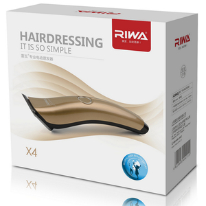 Image 5 - RIWA Rechargeable Hair Trimmer Three Functional Blades Professional Hair Clipper Men Kids X4 2