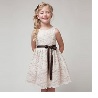 Girls Dress Brand Chiffon Lace Children S Beauty Flower Girl Dresses Wedding And Party In The