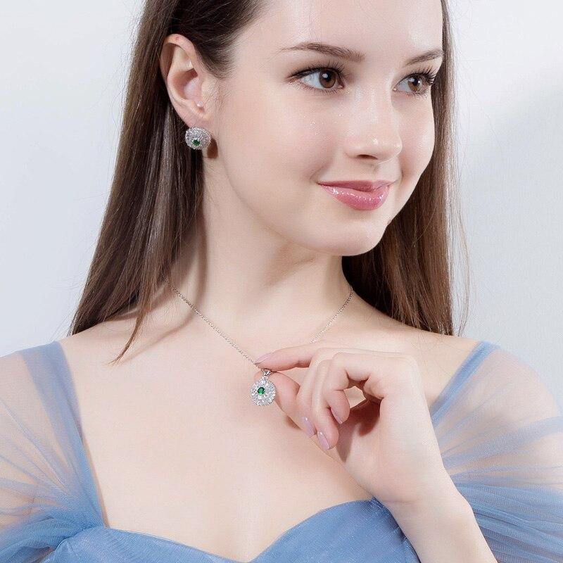 CWWZircons 2018 Modne ženske privjeske ogrlice i naušnice Nakit - Modni nakit - Foto 6