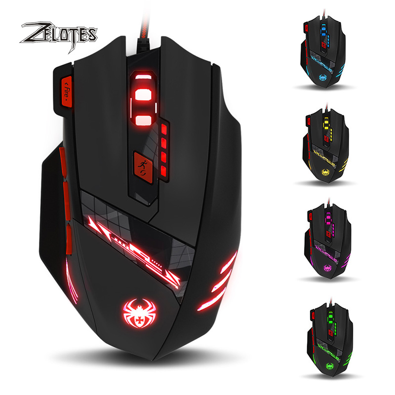 Gaming Mouse Zelotes T90