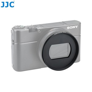 Image 4 - JJC 52mm MC UV CPL Filter Adapter for Sony RX100 VI RX100 VII for Canon G5X Mark II Lens Cap Kit Keeper RX100 M6 Camera Case Bag