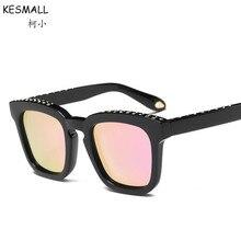 KESMALL 2017 Hombres Polarizadas Gafas de Sol Hombres Y Mujeres Gafas Retro Oversize Square UV400 Gafas De Sol Hombre YL64