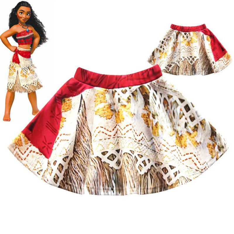 Moana Skirts Baby Girls Tutu Skirt Princess Birthday Party Skirt for Girls Moana Costumes