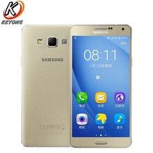 """Новый Samsung Galaxy A7 A7000 LTE мобильный телефон 5.5 """"2 ГБ Оперативная память 16 ГБ Встроенная память Восьмиядерный 13.0mp 1920x1080px 2600 мАч Android телефон с двумя sim"""