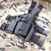 Blackhawk SERPA Light Bearing Compact RH Drop Leg GLOCK Holster For GLOCK 17 19 22 23