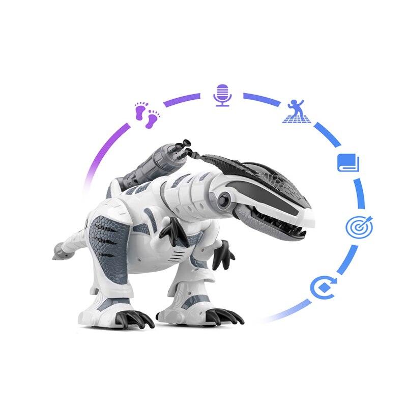 Oyuncaklar ve Hobi Ürünleri'ten Aksiyon ve Oyuncak Figürleri'de RC akıllı dinozor modeli elektrikli uzaktan kumandalı robot mekanik savaş ejderha müzik ve ışık ile fonksiyonlu çocuk hobi oyuncaklar'da  Grup 2