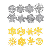 Naifumodo Snowflake Dies Flower Metal Cutting New 2019 for Card Making Scrapbooking Embossing Cuts Decor Stencil Craft