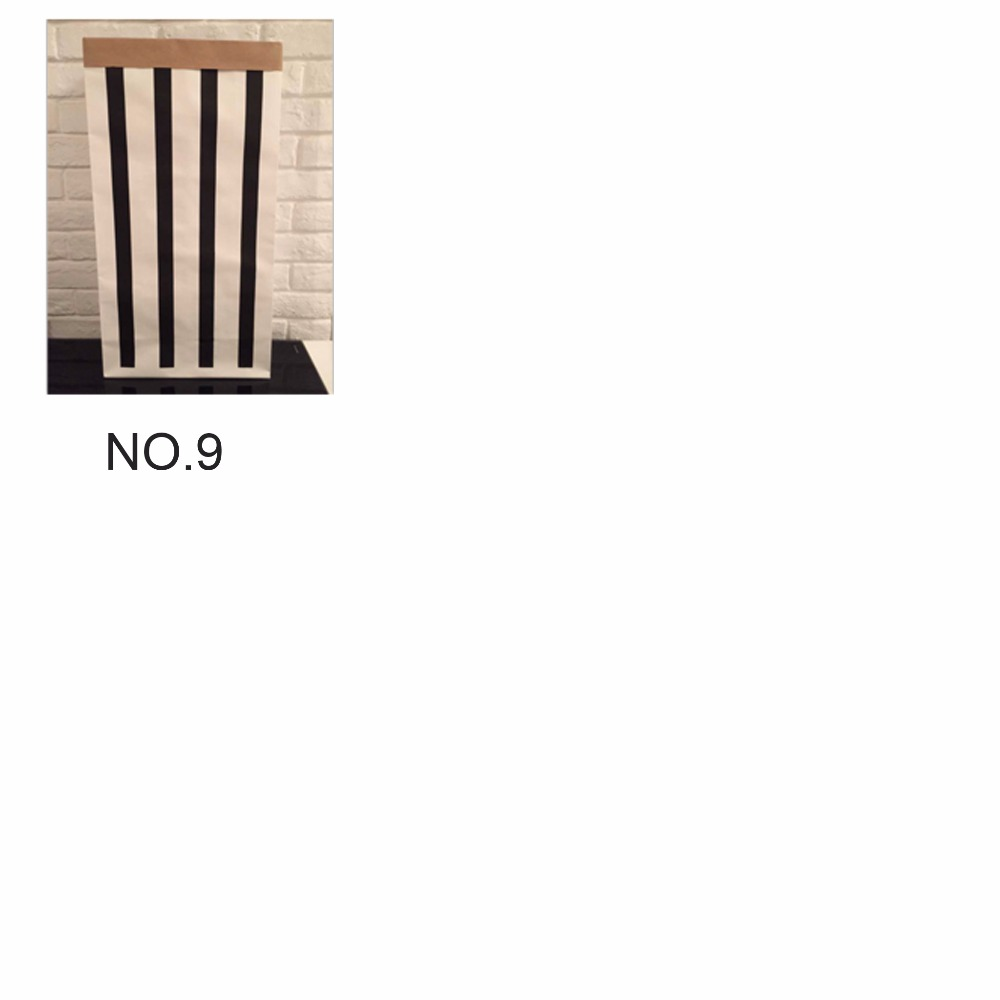 INS Fashion Eco-vriendelijke zware Kraft papieren zak kinderkamer - Home opslag en organisatie - Foto 5