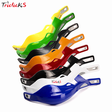 Triclick 22mm 25mm 28mm ATV Dirt Bike Hand Guards Protector Motorbike Motorcycle Handlebar Handguard Motocross Handle Protection