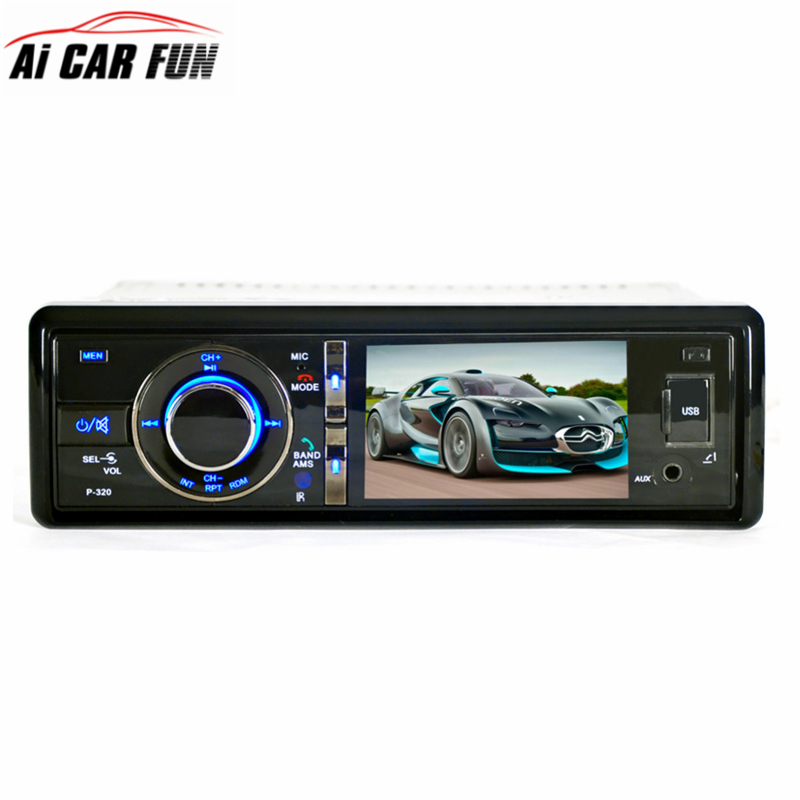 3 Inch High Definition Digital Screen Removable Panel Car DVD Bluetooth V2.0  1DIN Car DVD Player Support SD Card without Camera 9 inch car headrest dvd player pillow universal digital screen zipper car monitor usb fm tv game ir remote free two headphones