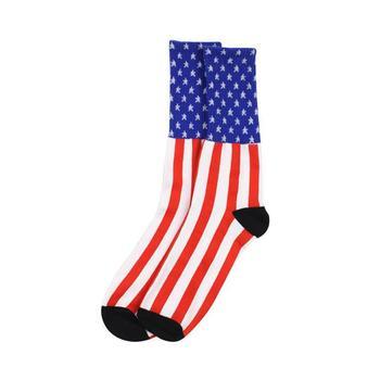 Stars & Stripes USA Socks