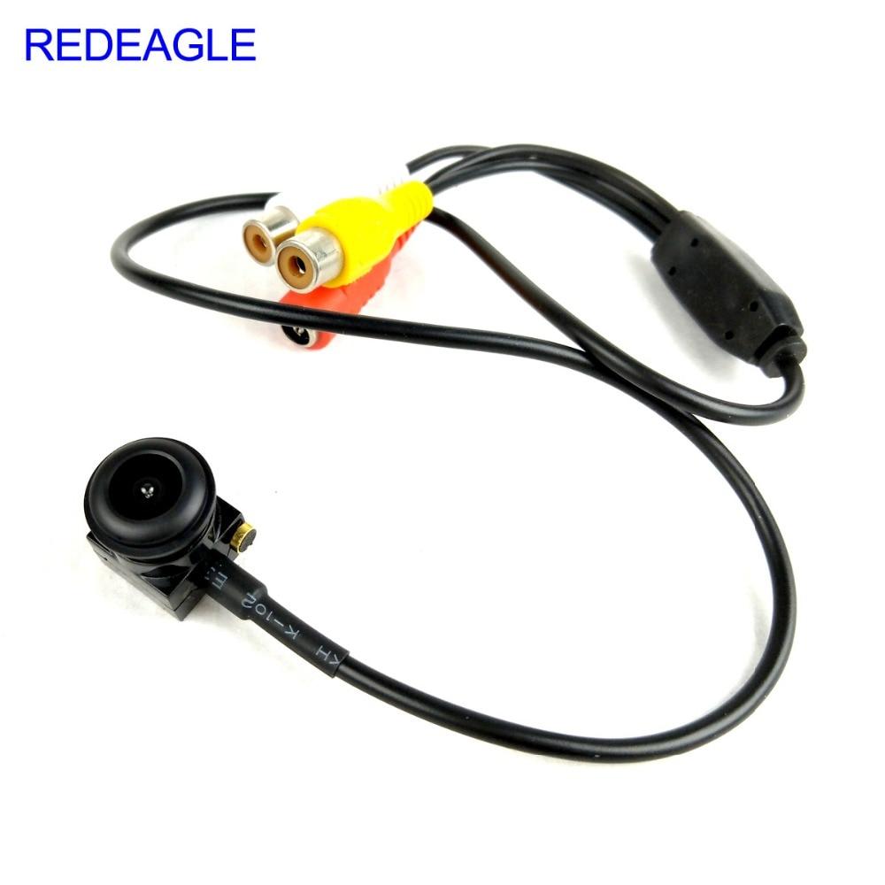 140 Degree Fisheye Wide Angle Analog Camera 700TVL Mini Home Security Surveillance Micro Camera