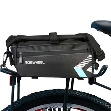 цены 8L Waterproof Bike Bag Outdoor Sports MTB Mountain Cycling Bike Back Seat Rear Bags Saddle Bag Shoulder Bag Bike Accessories