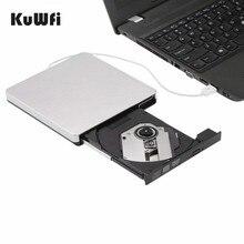 USB 2.0 External DVD Drive CD Burner Writer Player Laptop Desktop Pc For Windows Apple Mac iMac Macbook Air Pro