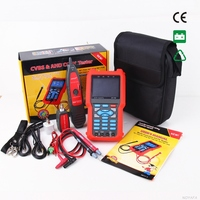 CCTV Tester Analog & CVBS Signal, cable tester tracker Automatically adapts and displays the video format NOYAFA NF 706