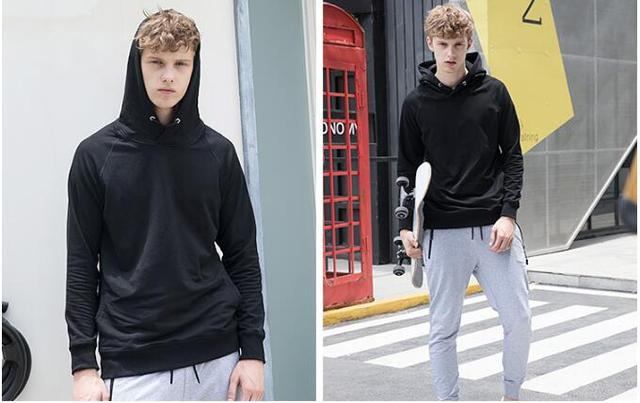 Autumn And Winter Men's Hooded Hoodies 2