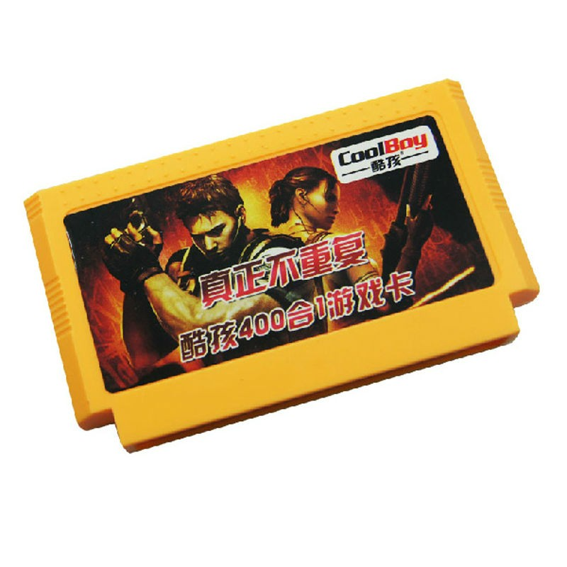 400 In 1 (500 In 1 For Option) Super Value 8 Bit 60 Pin Classic Game Card For Video Game Console  400 Or 500 No Repeat Games