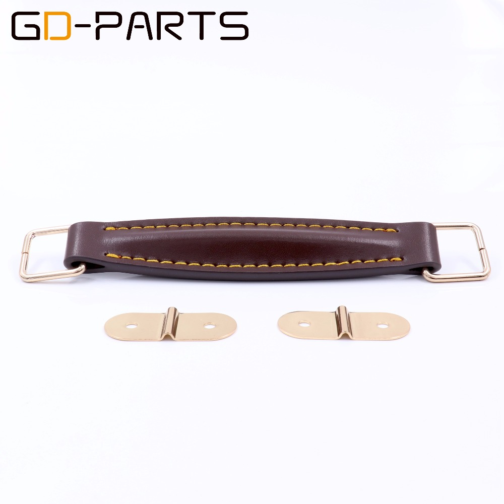 gd parts vintage leather handle strap for marshall fender guitar amplifier speaker cabinet radio. Black Bedroom Furniture Sets. Home Design Ideas