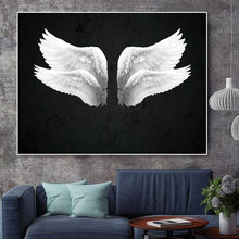 Poster Canvas painting Picture wall art canvas for room wings painting wall pictures for living room decoration home no framed(China)