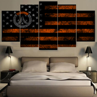 HD Canvas Printing Famous Pattern Flag Wallpaper Painting Home Decoration Unframed Canvas Paintings For Living Room