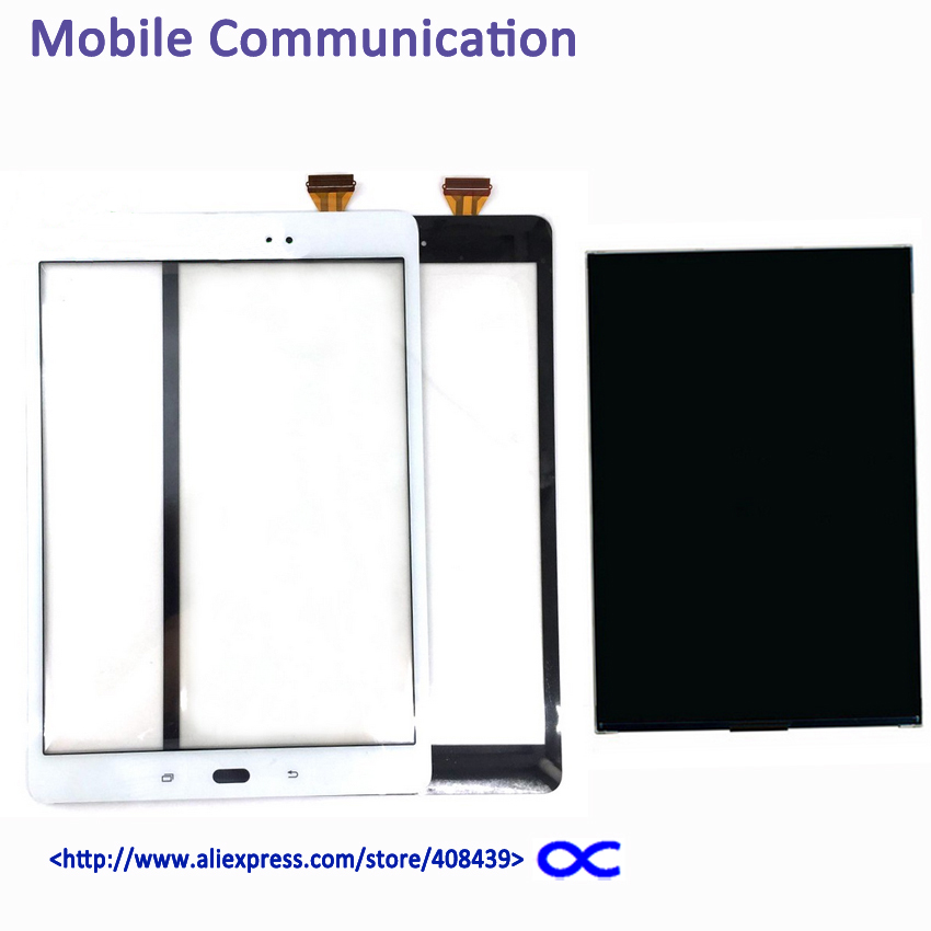 OEM T550 LCD Touch Screen For Samsung Galaxy Tab E SM-T550 T550 T555 Display Touch Panel Digitizer Tracking