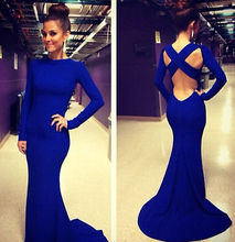 New Long Sexy Women Fashion Evening Party Ball Prom Gown Formal Dress
