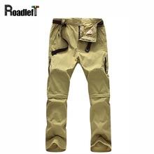 Для мужчин S Multi-Функция съемный повседневные штаны Для мужчин быстро сухой дышащий Тактический грузов работы Брюки для девочек Для мужчин Softshell Треники 4XL