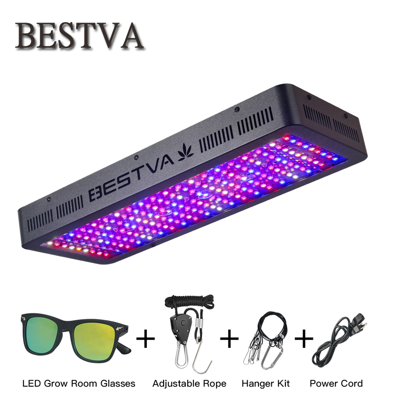 BESTVA 2000 W led élèvent la lumière plein spectre fitolampy pour plantes d'intérieur élèvent boîte de tente à effet de serre semences veg bloom tous grandir étapes