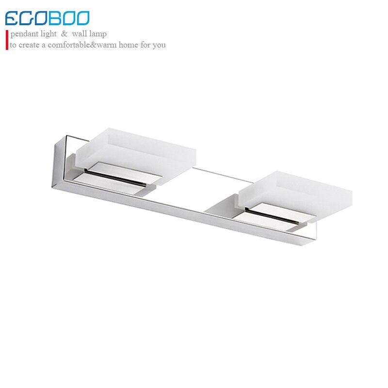цены Modern 35cm 6W Acrylic LED Mirror Light for Hotel Bathroom / Washroom Wall Spot Light 110V / 220V Waterproof Led Wall Light
