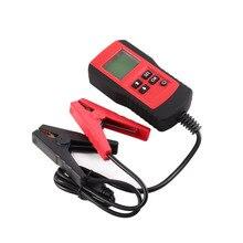 AE300 12 В ЖК-дисплей автомобильной транспортных средств Цифровой автомобиль Батарея Авто Системы анализатор Батарея Напряжение тестер электрического сопротивления инструмент диагностики красный