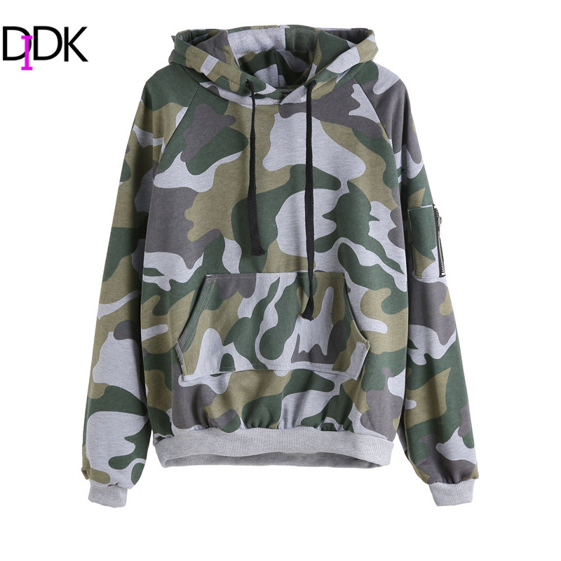 Camo Hoodies For Women Baggage Clothing