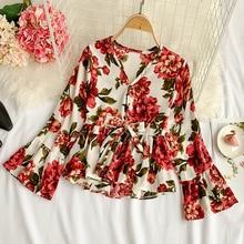 0a440909b02 Buy korean chiffon blouse and get free shipping on AliExpress.com