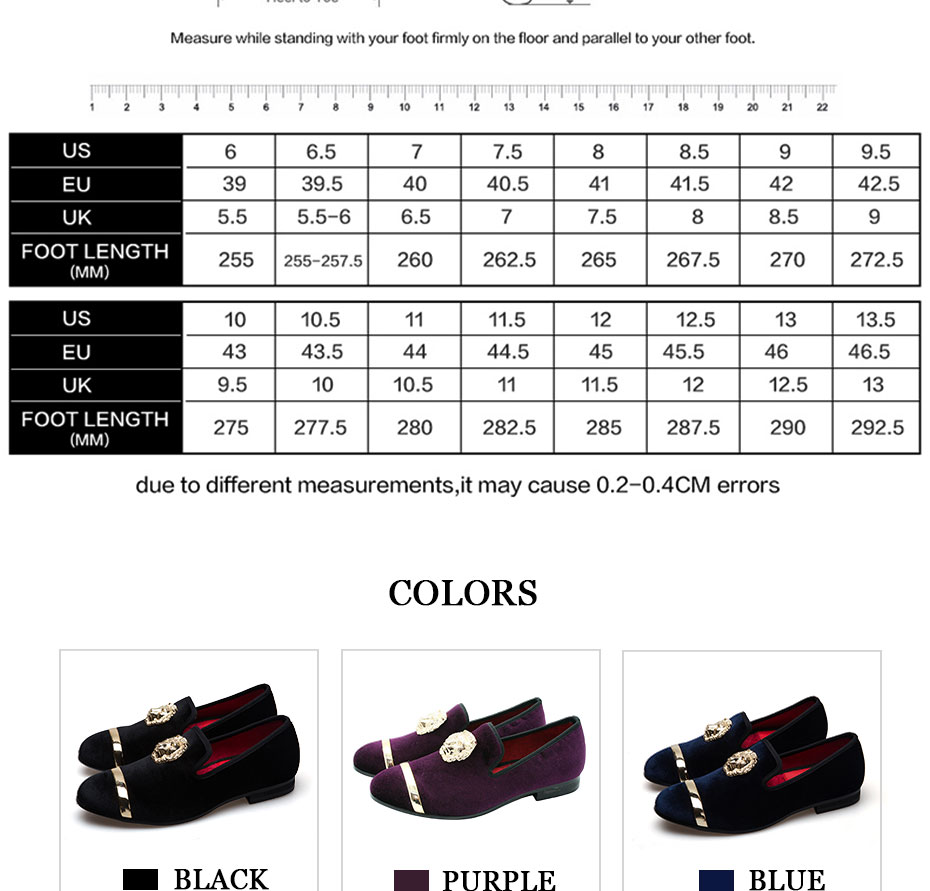 HTB1AExhaEEIL1JjSZFFq6A5kVXas - New Fashion Gold Top and Metal Toe Men Velvet Dress shoes italian mens dress shoes Handmade Loafers