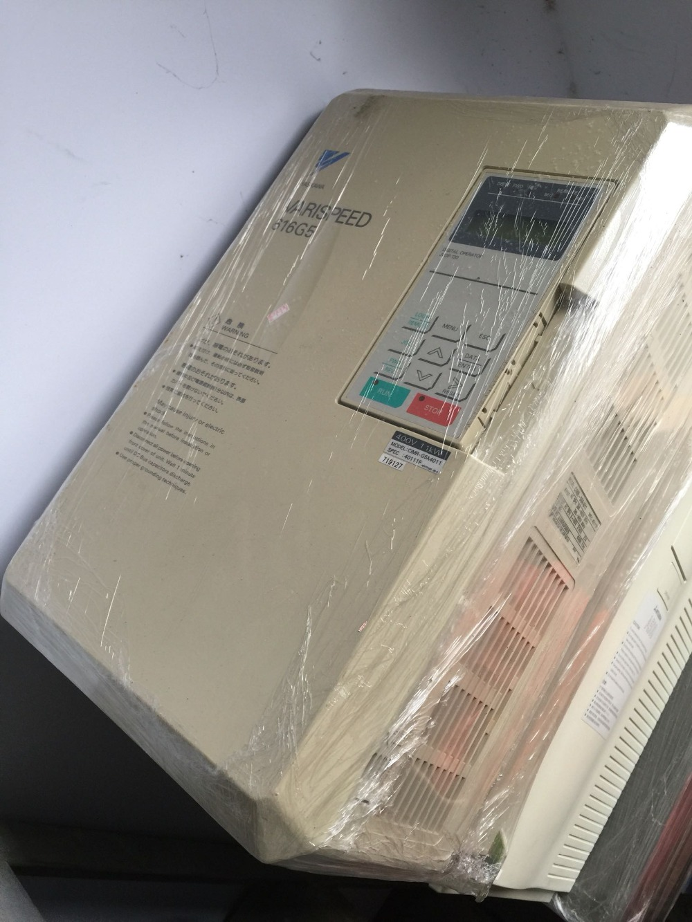 CIMR-V7SU41P5   used in good condition
