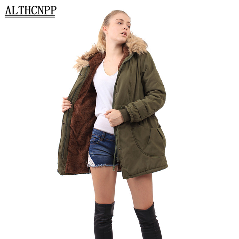 2017 New Parkas Female Women Winter Coat Thickening Cotton Winter Jacket Womens Outwear Parkas for Women Winter 1793 10w led tactical flashlight t6 zoom torch waterproof 18650 lanternas practical light for bike lamp cheap sale