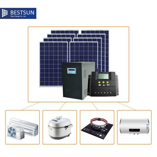 Maison Solaire Panneau SystemW Portable Kit Solaire Pour La