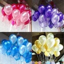 Воздушные шары 5 дюймов = 13 см жемчужного цвета для подарка, рукоделие, день рождения, свадьба, вечеринка, детский душ, украшение, сделай сам, Wh
