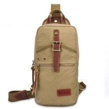 มาใหม่ผู้ชายหน้าอกกระเป๋าแพ็คเดินทางสบายๆC Rossbodyกระเป๋าสะพายกระเป๋าของmessenger bag bolsaเดpechoจัดส่งฟรี