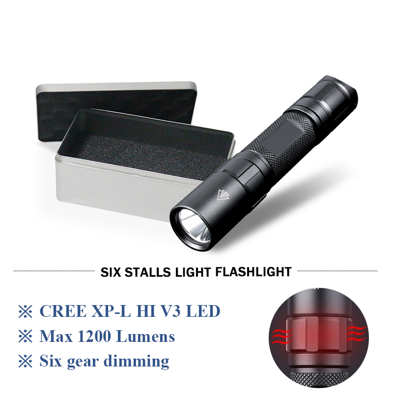 tactical flashlight rechargeable led flash light Lanterna militar Torch 18650waterproof flashlight Self defense hunting linterna