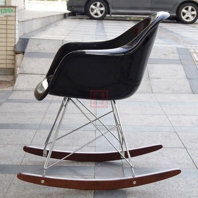 Free Shipping   Fiberglass Original Eames Rar Rocking Chair, Designer Furniture  Rocking Chair, High