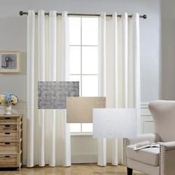 GIGIZAZA Moderne Jacquard Black Out Polyester Silber Grau Schwarz Vorhang  Für Wohnzimmer Dekoration Drapieren Cortina Für Küche