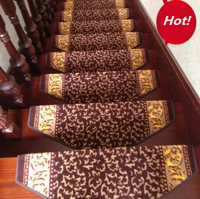 Glue Thickening Stair Carpet Stair Mat Slip Resistant Pad Stair Strode Pads  Curviplanar Classic Square Step Stair Decor In Carpet From Home U0026 Garden On  ...