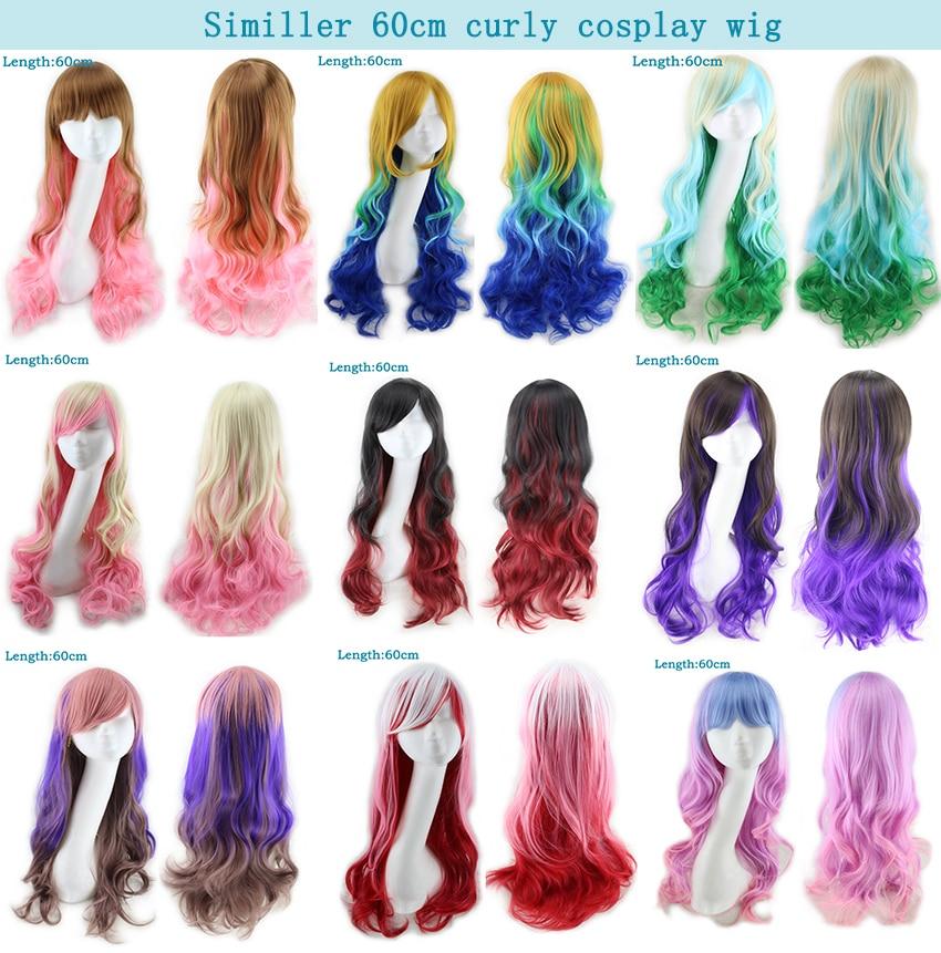 Long Straight Women's Wigs 9