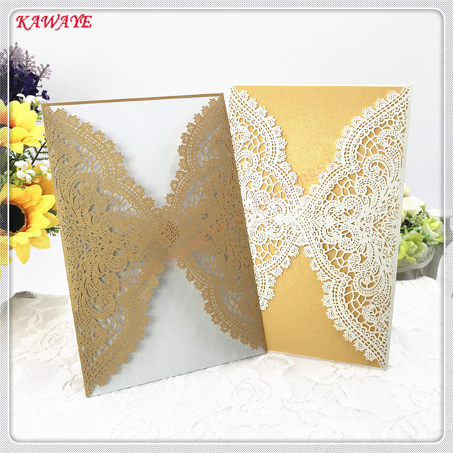 multiple colour vertical laser cut butterfly invitations cards kits for wedding bridal shower birthday present 10pcs