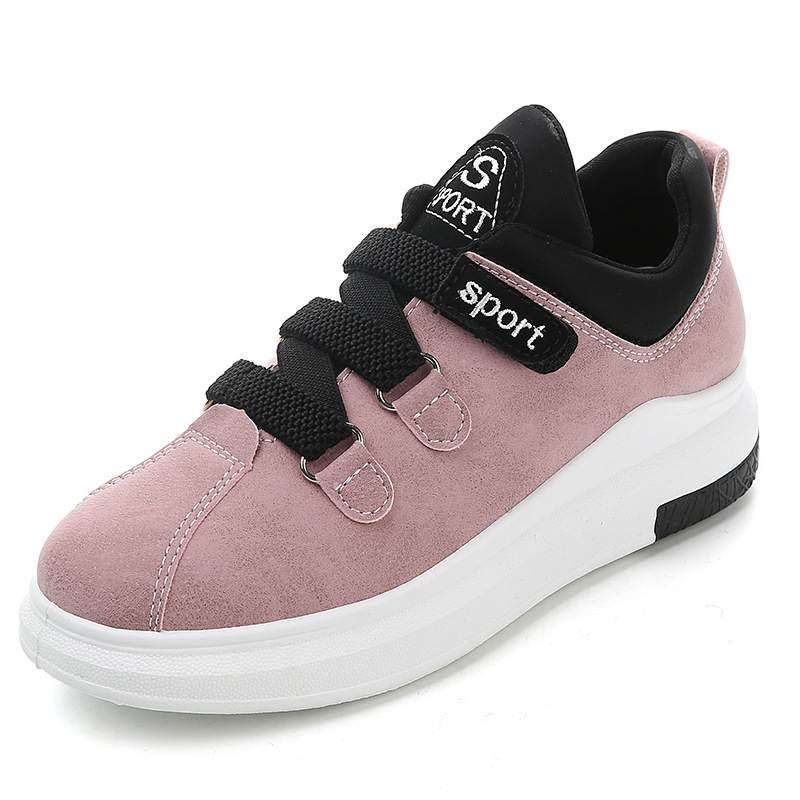 Shoes Woman Flat Platform Women Vulcanize Loafers Microfiber Casual Ladies Cozy Take A Walk Spring and Autumn Student Sneakers