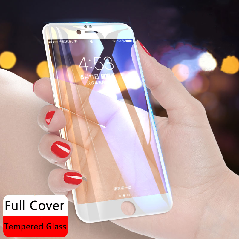 Full Cover for Iphone X 6 6S 7 8 Case for Meizu M5S M5C M5 M6S M6 Note S6 Mx6 Pro6 Pro 7 Plus U10 U20 E2 M3 Mini tempered glass