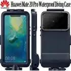 HUAWEI mate 20 Pro Чехол для дайвинга Официальный Оригинальный чехол для камеры 360 полный защитный чехол для HUAWEI mate 20 pro Водонепроницаемый чехол для ...