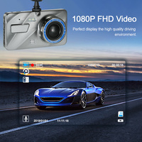 4 Dual Lens Dashcam DVR Car DVRs Dash Cam Registrar Auto Camera Video Recorder Camcorder Night