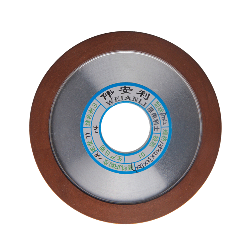 1pc Diamond Grinding Wheels Hypotenuse 150/180/240/320 Grits Grinding Disc 125mm For Carbide Milling Cutter PowerTool